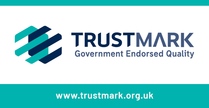 Trustmark logo UK Group Flawless Cambridge